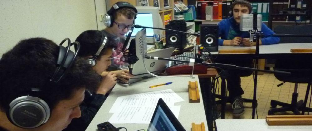 Une radio scolaire ... de qualité professionnelle !